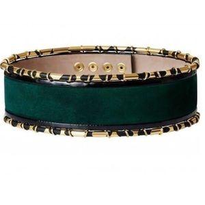 Balmain suede belt size m/l